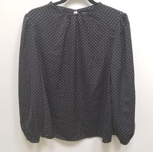 Who What Wear Long Sleeve Blouse